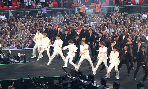 BTS at Wembley