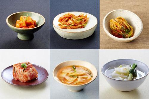 Kimchi styles