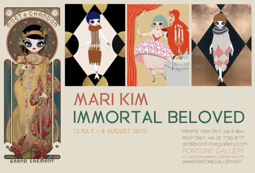 Mari Kim Immortal Beloved poster
