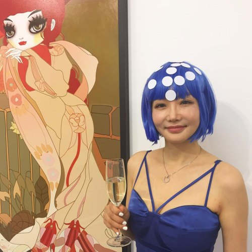 Mari Kim at the PV of Immortal Beloved