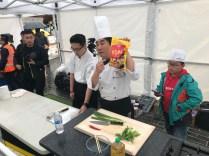 Kingston Korean Harvest Fest 2018 - the shortcut to making pancake