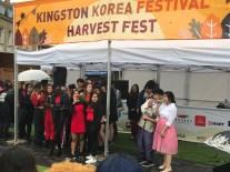 Kingston Korean Harvest Fest 2018 - the presenters