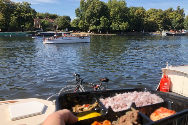 Bento Box by the river