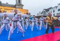 Kingston Korean Harvest Fest 2018 - the taekwondo demonstration (photo: KBCE)