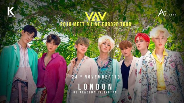 VAV at Islington Academy - poster