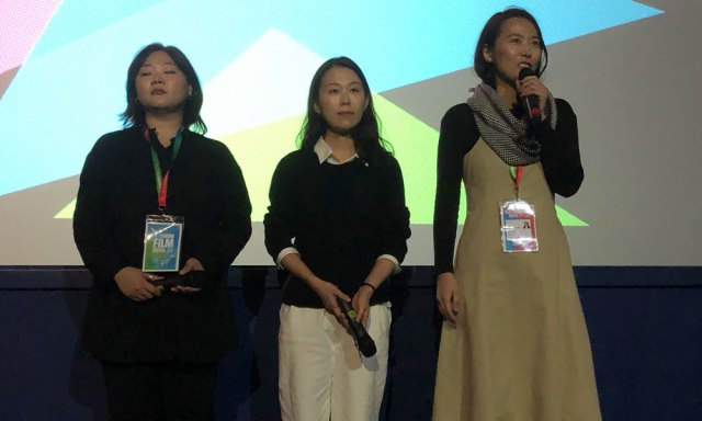 Kim Bora and Kim Sae-byuk