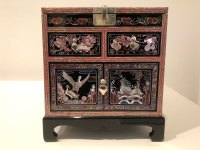Choi Tae-hwa: dressing stand with ten longevity symbols