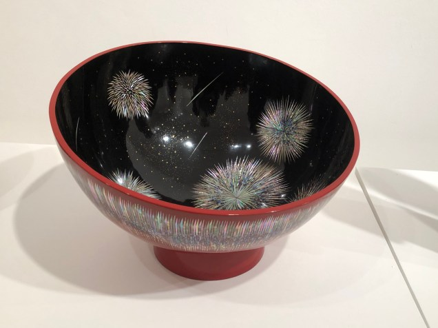 Kim Sung-ho: Dry-lacquer semi-spherical Punju porcelain bowl