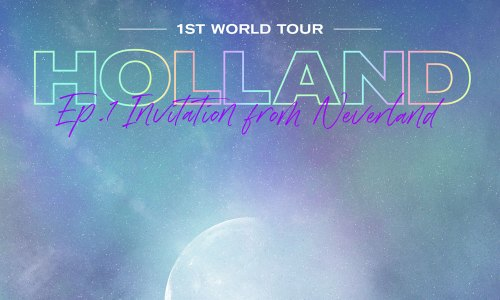 Holland Invitation from Neverland tour
