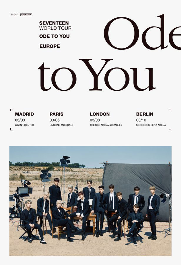 "Seventeen ""Ode to You"" poster"