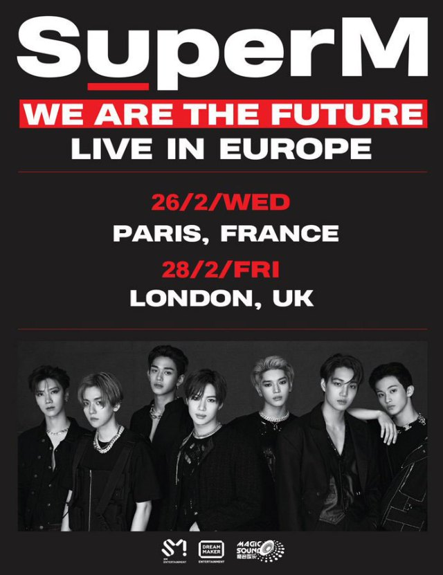 SuperM We are the Future poster