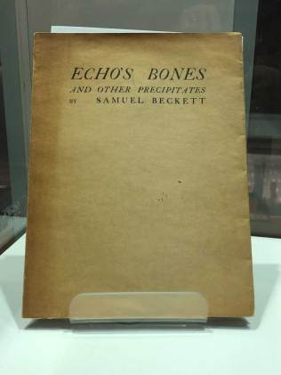 Echo's Bones - poetry collection by Samuel Beckett