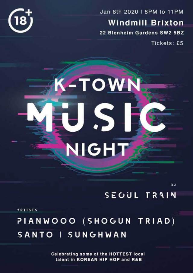 K-Town Music Night poster