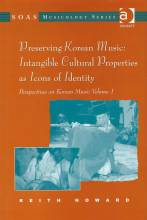 Cover artwork for book: Preserving Korean Music: Intangible Cultural Properties as Icons of Identity