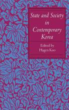 Cover artwork for book: State and Society in Contemporary Korea