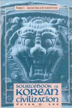 Thumbnail for post: Sourcebook of Korean Civilization: Volume 1: From Early Times to the Sixteenth Century
