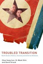 Cover artwork for book: Troubled Transition: North Korea's Politics, Economy and External Relations