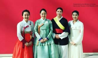 Cholong Sung, Hyelim Kim, Nami Morris and Yerin Lee