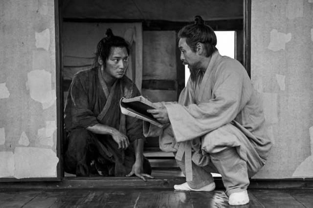 Byun Yo-han and Sol Kyung-gu in THE BOOK OF FISH