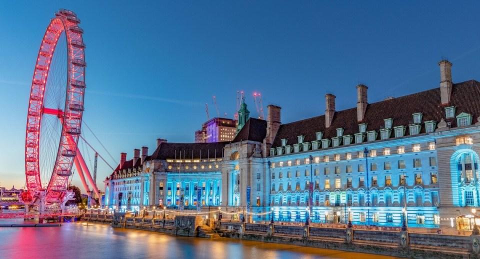 Hotels near The London Eye