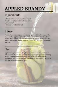 Appled Brandy Recipe London Ontario