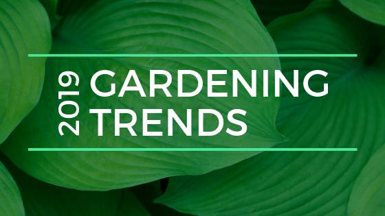 Gardening Trends 2019
