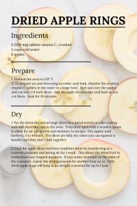 Dried Apple Rings Recipe London Ontario