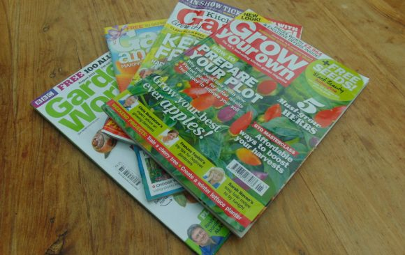 Gardening magazines – a reliable source of gardening insights, and beautiful pictures!