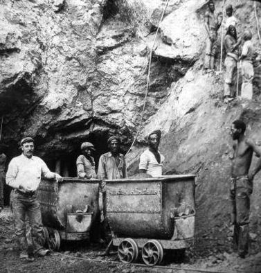 miners at Wesselton