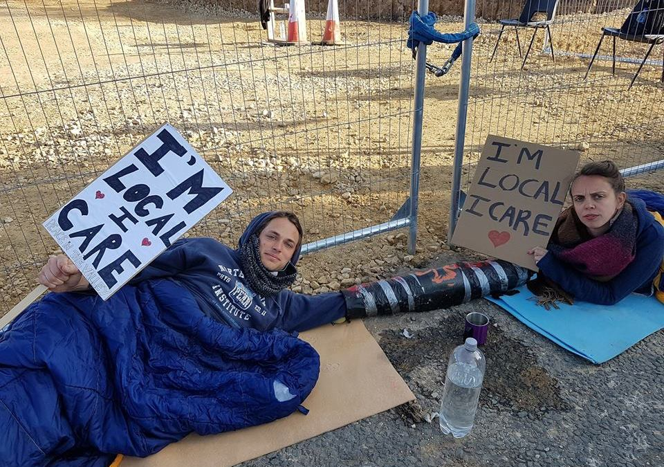 County Durham residents take direct action against new opencast