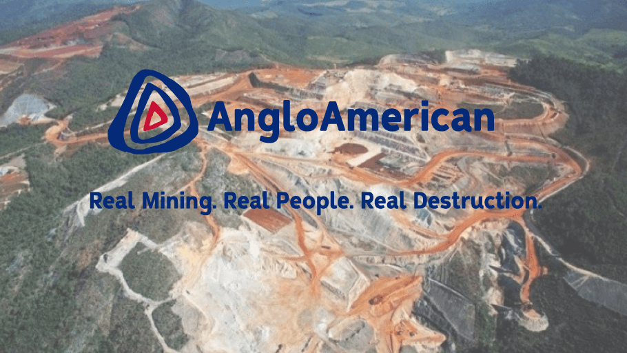 Send a message to Anglo American
