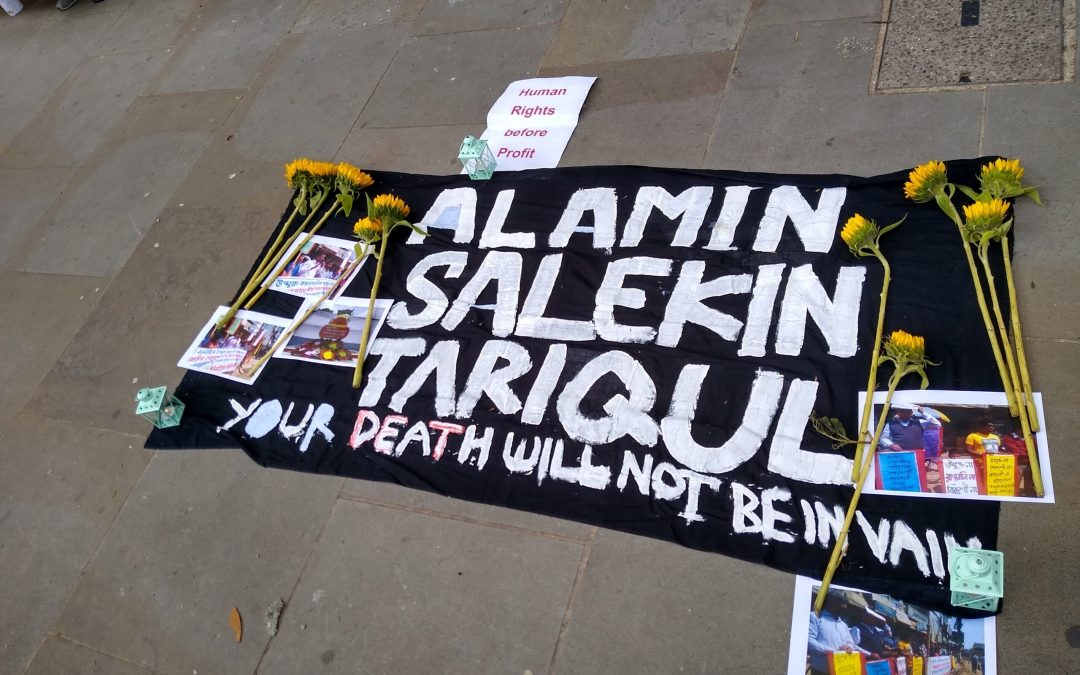 Honouring the dead by continuing to demand justice; and BHP to cut and run from London