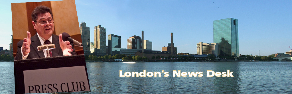 from the news files of London Mitchell Logo