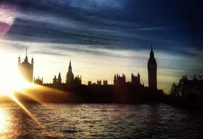 Sunset at Parliament