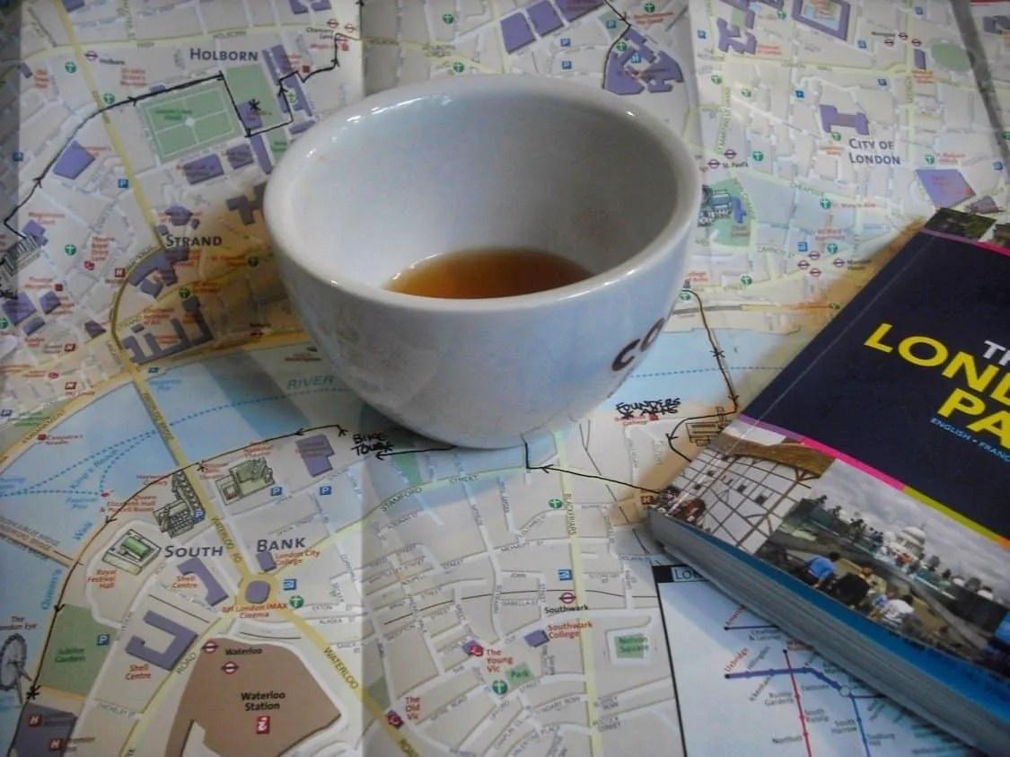 London Trip Planning & Map