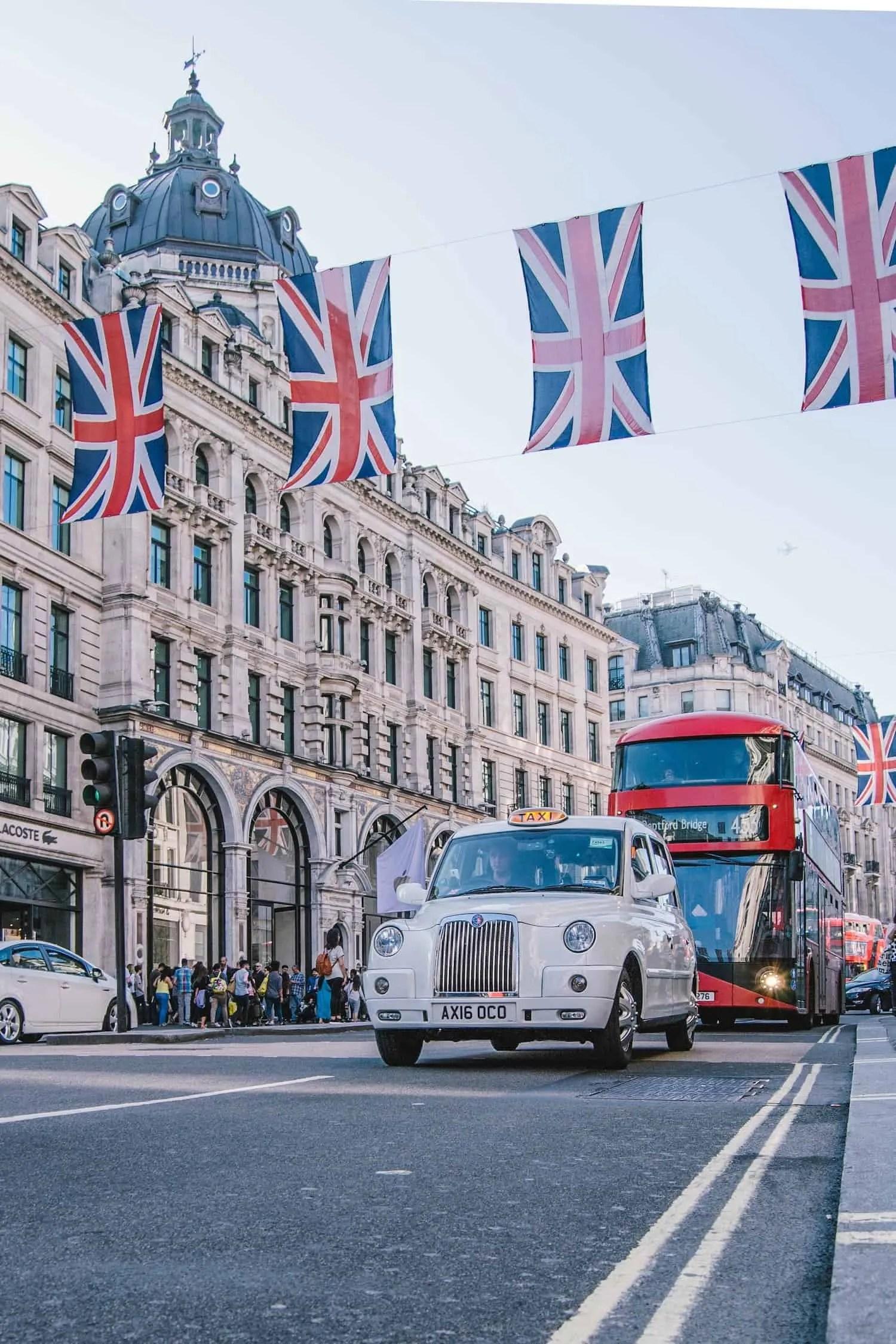 Top London Drinks - London Street