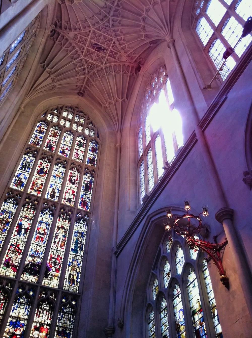 Bath Day Trip - Inside the Abbey