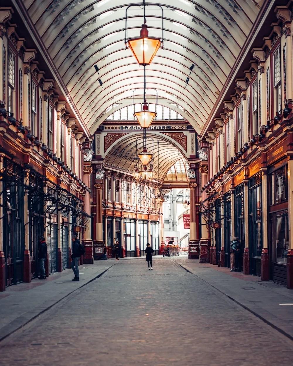 London Quotes - Leadenhall Market