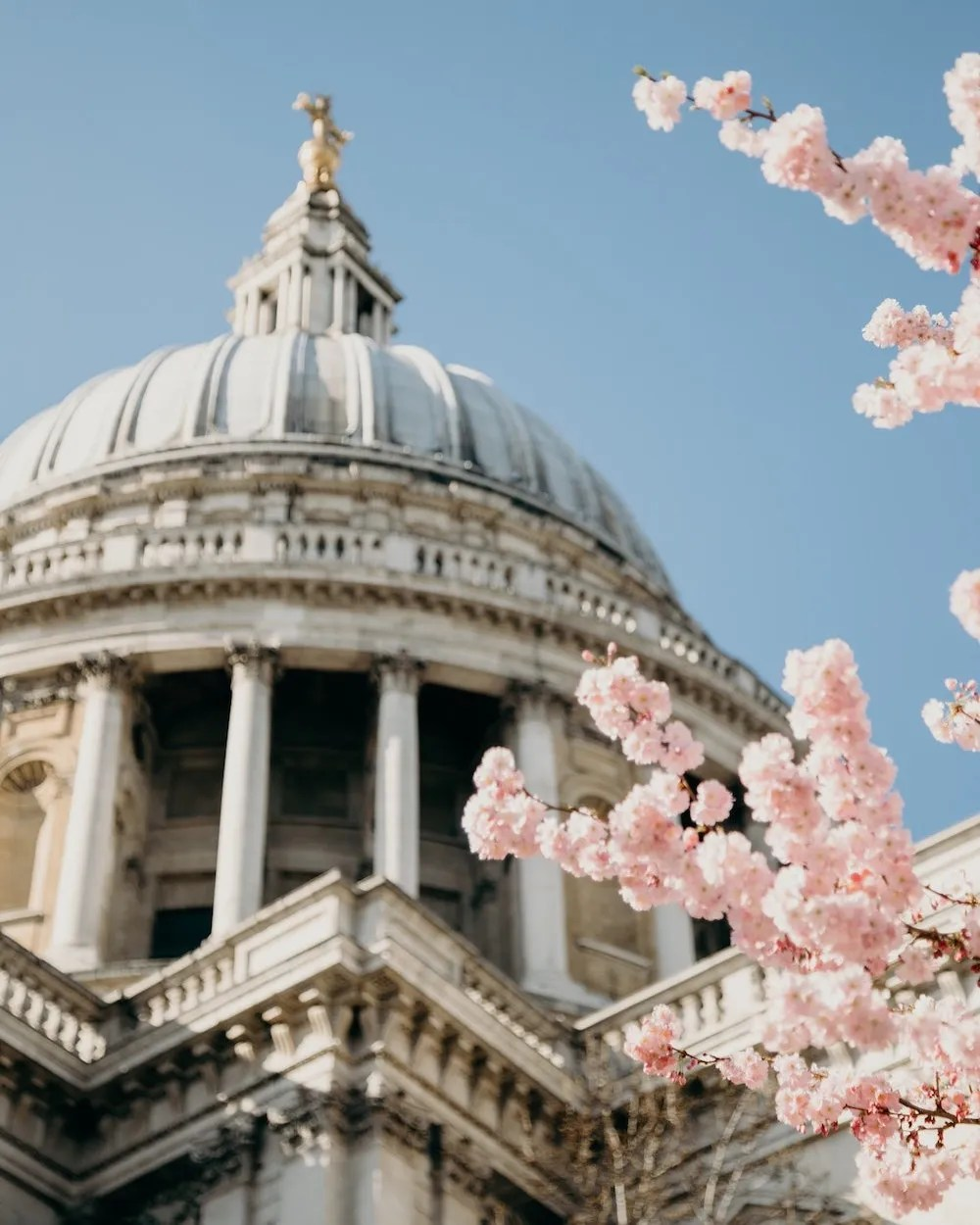 London Quotes - St. Paul's in Spring