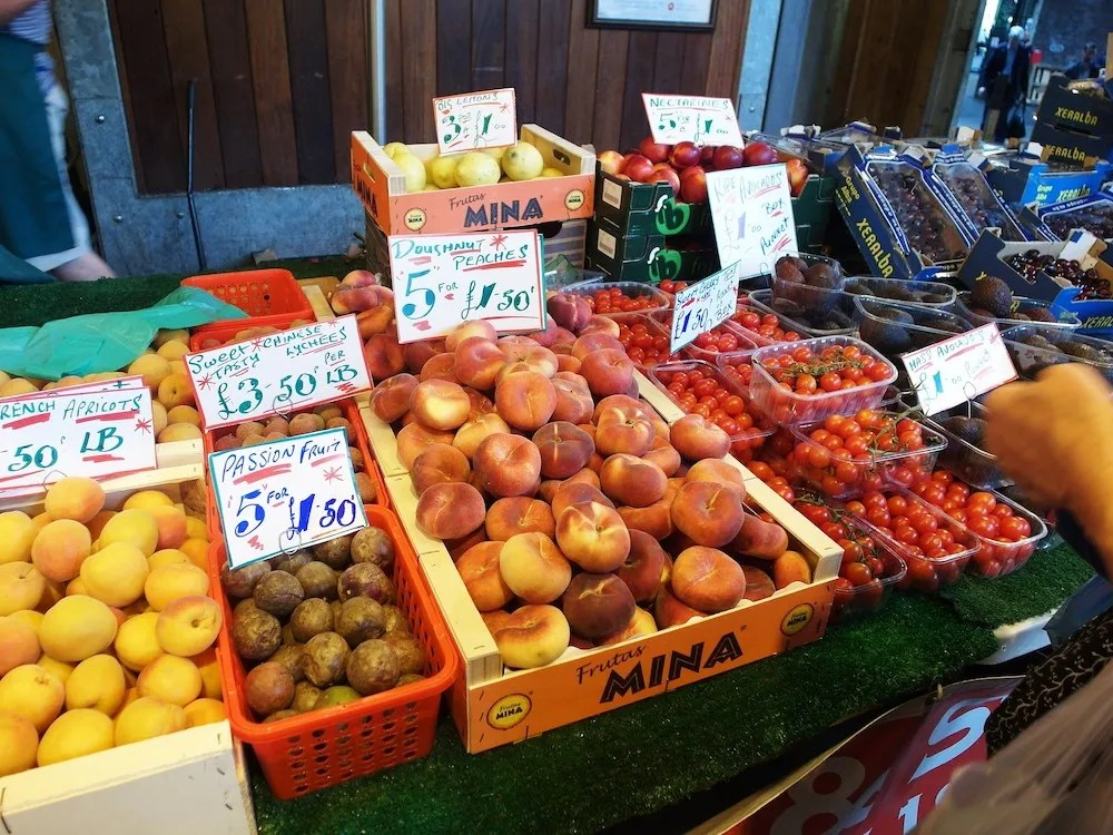 Borough Market - Fruit Vendor