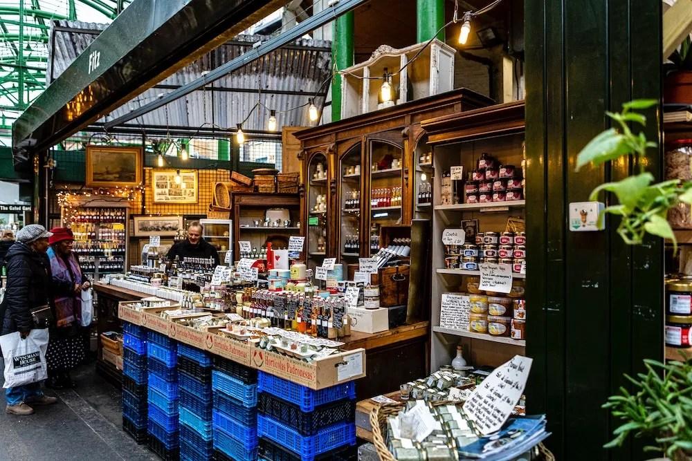 Borough Market - Food Vendor