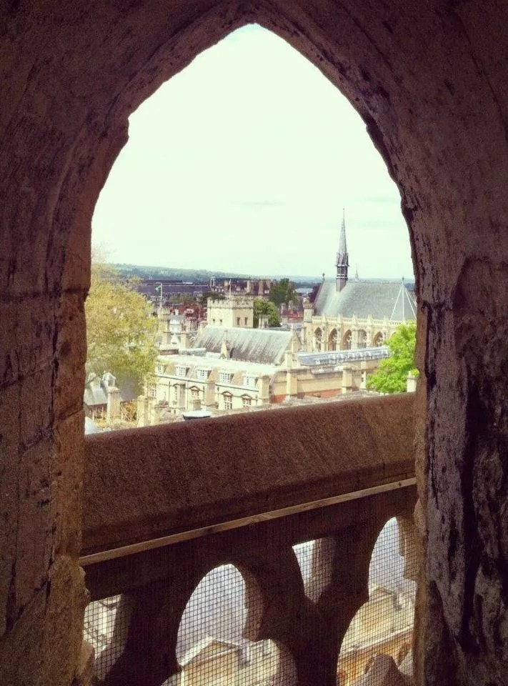 Oxford Day Trip - Archway atop Tower