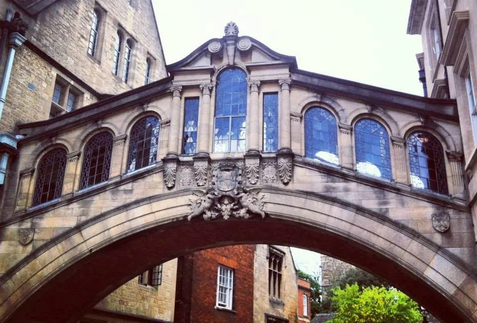 The Bridge of Sighs in Oxford