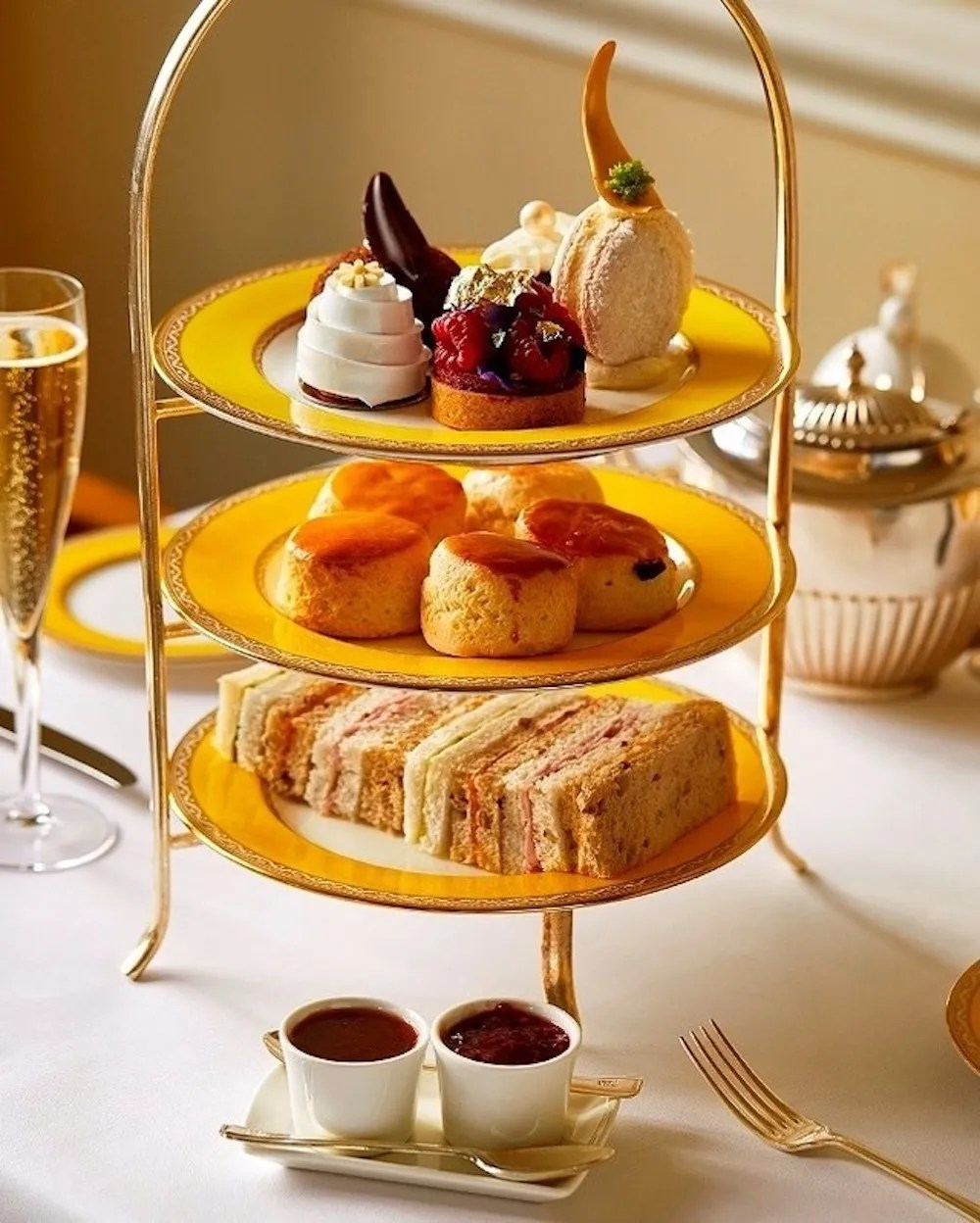 Afternoon Teas in London - The Goring Hotel