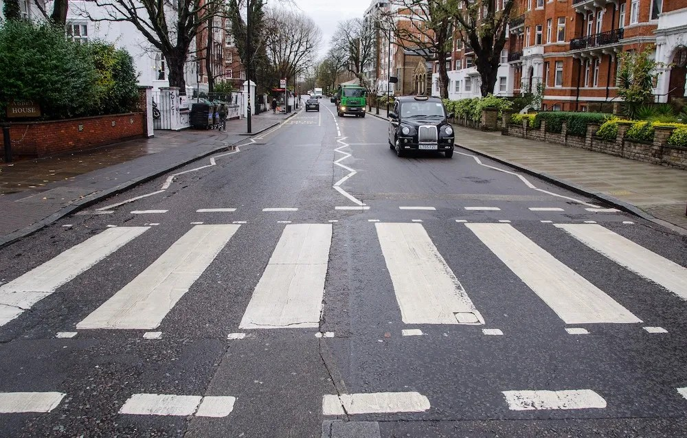 Famous London Streets - Abbey Road