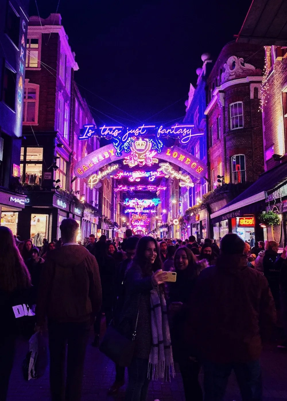 Famous London Streets - Carnaby Street