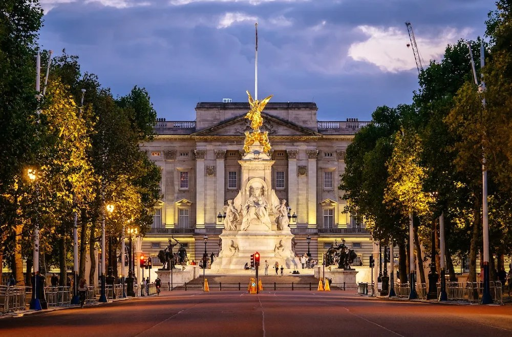 Famous Streets in London - The Mall