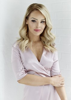 Pink Satin Wrap Over Dress, -ú34.95, The Katie Piper Collection with Want That Trend.Com (Lifestyle) (3)