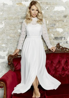 White Crochet Maxi, -ú49.95, The Katie Piper Collection with Want That Trend.Com (Lifestyle) (2)