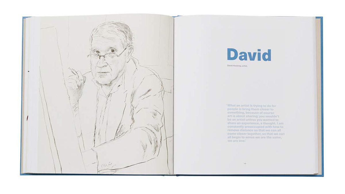David Hockney Drawings From Life 10